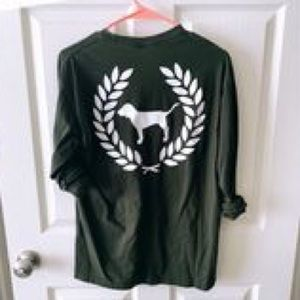 Olive campus long sleeve